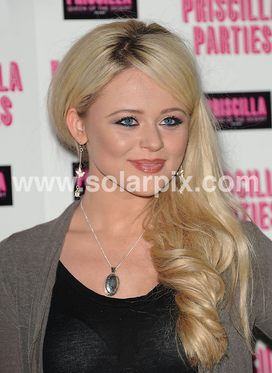 **ALL ROUND PICTURES FROM SOLARPIX.COM**                                             **WORLDWIDE SYNDICATION RIGHTS**                                                                                  Caption: Outside arrivals at the Priscilla Parties Launch event. Held at The Palace Theatre, Shaftesbury Avenue, London, UK.  January 24, 2011.                                                                              This pic: Emily Atak                                                                     JOB REF: 12708 SSD       DATE: 24_01_2011                                                           **MUST CREDIT SOLARPIX.COM OR DOUBLE FEE WILL BE CHARGED**                                                                      **MUST AGREE FEE BEFORE ONLINE USAGE**                               **CALL US ON: +34 952 811 768 or LOW RATE FROM UK 0844 617 7637**