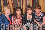 9468-9471.PHONE A FRIEND: Pat Turner, Helen Power, Helen McMahon and Kathleen Leen all enjoying the table quiz in the Munster bar last Friday night to raise much needed funds for the Palliative Care unit at Kerry General Hospital organised by the Kerry Hospice.