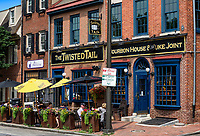 The Twisted Tail Bourbon House, Old City, Philadelphia, Pennsylvania, USA.