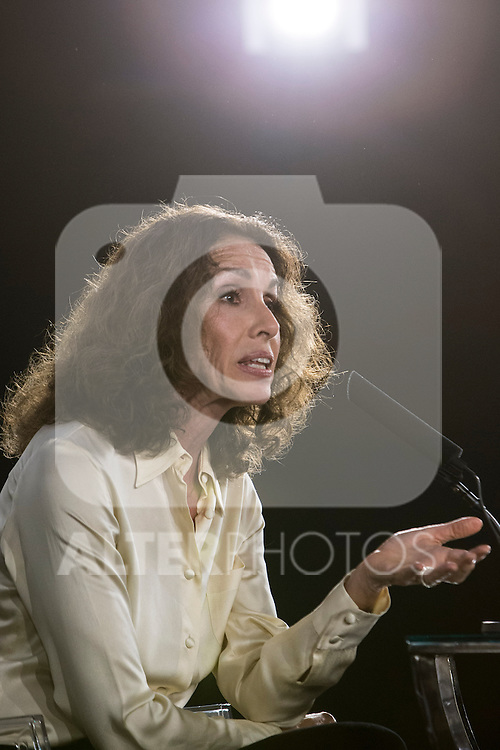 Spanish actress Ana Belen attend the Goya honorary Aaward 2017 press conference at Academia de CineMadrid, January  17, 2017. (ALTERPHOTOS/Rodrigo Jimenez)