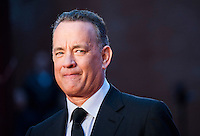 L'attore statunitense Tom Hanks posa sul red carpet del Festival Internazionale del Film di Roma, 13 ottobre 2016.<br /> U.S. actor Tom Hanks poses on the red carpet of the international Rome Film Festival at Rome's Auditorium, 13 October 2016.<br /> UPDATE IMAGES PRESS/Karen Di Paola