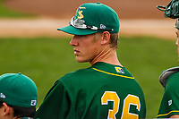 Beloit Snappers pitcher Boomer Biegalski (36) during a Midwest League game against the Peoria Chiefs on April 15, 2017 at Pohlman Field in Beloit, Wisconsin.  Beloit defeated Peoria 12-0. (Brad Krause/Four Seam Images)