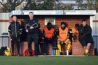 Hornchurch manager Jim McFarlane during Brightlingsea Regent vs AFC Hornchurch, Buildbase FA Trophy Football at North Road on 10th November 2018
