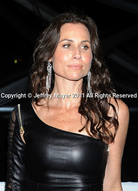 BEVERLY HILLS, CA - January 16: Minnie Driver arrives at The Weinstein Company and Relativity Media's 2011 Golden Globe After Party presented by Marie Claire held at BAR 210 - The Beverly Hilton Hotel on January 16, 2011 in Beverly Hills, California.