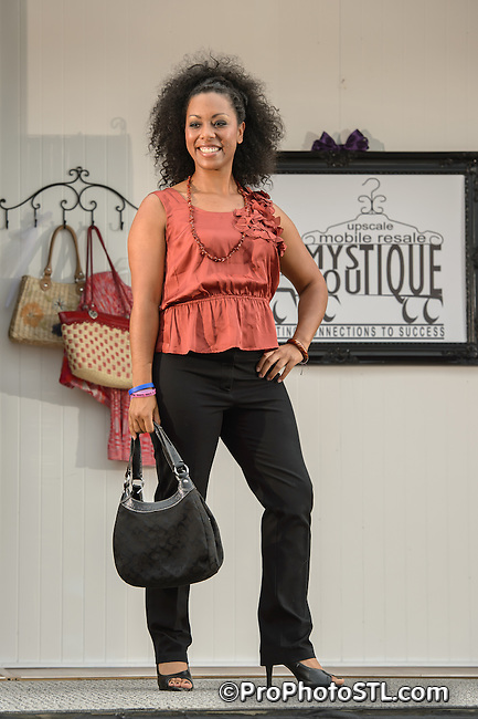 "Streetscape Magazine and Cary O'Brian's Design and Color Spa present ""Mystique Fashion Show"" in St. Charles, MO on May 20, 2012."
