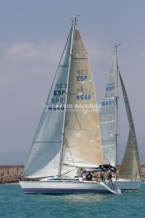 ESP4548 ULAVELA. JOSE LUIS. CABALLERO. SEGARRA. R.C.N CASTELLON. X-382. .XIII TROFEO DE VELA CIUDAD DE BURRIANA Trofeo Caja Rural Burriana, Burriana, Castellón, Spain - Regata de flota/Fleet Race - Cruceros/Cruisser