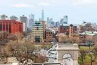 View of Washington Square Park
