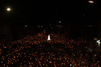 Prociss&atilde;o em homenagem a Nossa Senhora de Fatima percorre as ruas da capital paraense.<br />Belem, Para, Brasil
