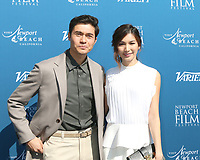 LOS ANGELES - NOV 11:  Henry Golding, Gemma Chan at the 10 Actors to Watch & Newport Beach Film Festival Fall Honors at the Resort at Pelican Hill on November 11, 2018 in Newport Coast, CA