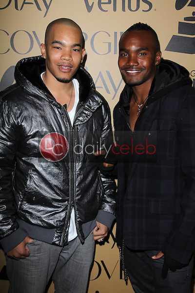 Prince Syc, Dejuan Turrentine<br /> at Grammy Glam, MyHouse, Hollywood, CA 02-07-12<br /> David Edwards/DailyCeleb.com 818-249-4998