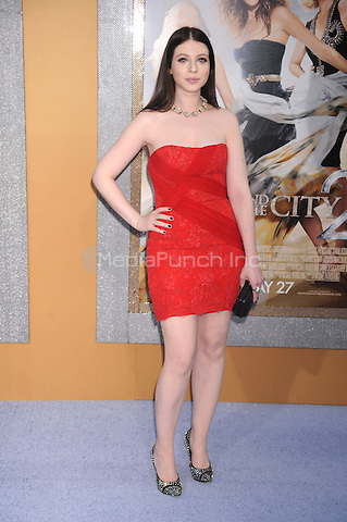 Michelle Trachtenberg at the film premiere of 'Sex and the City 2' at Radio City Music Hall in New York City. May 24, 2010.Credit: Dennis Van Tine/MediaPunch