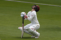 Rory Burns of Surrey gets ready to bat during Surrey CCC vs Essex CCC, Specsavers County Championship Division 1 Cricket at the Kia Oval on 11th April 2019