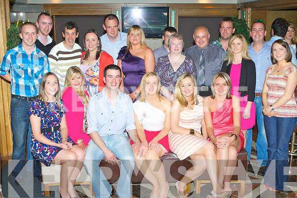 Julie Leahy Rockchapel seated centre who celebrated her 30th birthday with her family and friends in the Plaza Hotel Killarney on Saturday night..