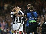 Mario Mandzukic of Juventus celebrates his equalising goal during the Champions League Final match at the Millennium Stadium, Cardiff. Picture date: June 3rd, 2017.Picture credit should read: David Klein/Sportimage