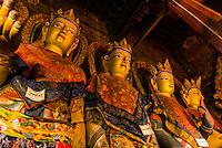 Palcho Monastery (a.k.a. Pelkor Chode Monastery), Gyangze, Tibet (Xizang), China.