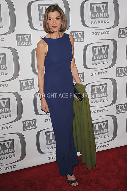 WWW.ACEPIXS.COM . . . . . .April 10, 2011...New York City...Wendie Malick attends the 9th Annual TV Land Awards at the Javits Center on April 10, 2011 in New York City.....Please byline: KRISTIN CALLAHAN - ACEPIXS.COM.. . . . . . ..Ace Pictures, Inc: ..tel: (212) 243 8787 or (646) 769 0430..e-mail: info@acepixs.com..web: http://www.acepixs.com .