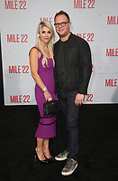 "9 August 2018-  Westwood, California - Sam Slater, Guest. Premiere Of STX Films' ""Mile 22"" held at The Regency Village Theatre. Photo Credit: Faye Sadou/AdMedia"