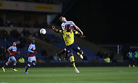 West Ham United's Jack Wilshere and Oxford United's Shandon Baptiste<br /> <br /> Photographer Rob Newell/CameraSport<br /> <br /> The Carabao Cup Third Round - Oxford United v West Ham United - Wednesday 25th September 2019 - Kassam Stadium - Oxford<br />  <br /> World Copyright © 2019 CameraSport. All rights reserved. 43 Linden Ave. Countesthorpe. Leicester. England. LE8 5PG - Tel: +44 (0) 116 277 4147 - admin@camerasport.com - www.camerasport.com