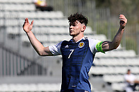 Scotland's Oliver Burke shows his frustration in the first half during England Under-18 vs Scotland Under-20, Toulon Tournament Semi-Final Football at Stade Parsemain on 8th June 2017