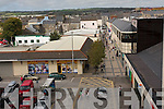 Aerial Photograph of Abbeycourt Car park Tralee