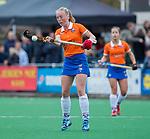 HUIZEN - Hockey - Laurien Boot (Bldaal)     .Hoofdklasse hockey competitie, Huizen-Bloemendaal (2-1) . COPYRIGHT KOEN SUYK