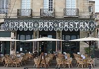 General view of Le Castan, Bordeaux, Nouvelle-Aquitaine, France on 16.10.19.