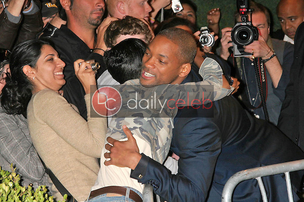Will Smith and fans<br />