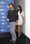 Bradley Cooper & Jennifer Lawrence attending the The 2012 Toronto International Film Festival.Photo Call for 'Silver Linings Playbook' at the TIFF Bell Lightbox in Toronto on 9/9/2012