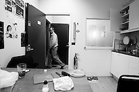 Iceland Airwaves 2009. HLJÓÐRITI HAFNARFIRÐI. EgillS and the first practice after he came from Germany.
