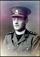 BNPS.co.uk (01202 558833)<br /> Pic:  PeterWilson/BNPS<br /> <br /> The Reverend George Jones.<br /> <br /> A charming letter which was carried on the first airship to cross the Atlantic has come to light 100 years later.<br /> <br /> Reverend George Jones, who was stationed at the Royal Naval Air Station East Fortune near Edinburgh, wanted to surprise his sister Donie by sending her a letter from America.<br /> <br /> So he gave the letter to one of the crew of airship R34 ahead of the historic flight on July 2, 1919, and asked him to post it to Donie from New York.<br /> <br /> He obliged and the letter reached its final destination in Bournemouth, Dorset, several months later as it made the return journey via ship.
