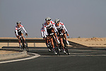 Bridgestone Anchor team in action during the 2nd Stage of the 2012 Tour of Qatar a team time trial at Lusail Circuit, Doha, Qatar, 6th February 2012 (Photo Eoin Clarke/Newsfile)