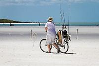 Fishing, Biking, Fort Myers Beach, Florida. Photo by Debi Pittman Wilkey