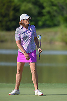 Juli Inkster (USA) watches her putt on 8 during round 1 of  the Volunteers of America LPGA Texas Classic, at the Old American Golf Club in The Colony, Texas, USA. 5/5/2018.<br /> Picture: Golffile | Ken Murray<br /> <br /> <br /> All photo usage must carry mandatory copyright credit (&copy; Golffile | Ken Murray)