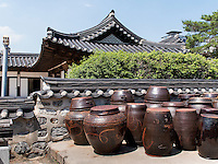 Namsangol Hanok Village in Seoul, S&uuml;dkorea, Asien<br /> Namsangol Hanok Village in Seoul, South Korea, Asia