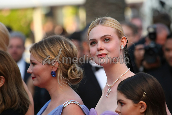 "24 May 2017 - Cannes, France - Kirsten Dunst, Elle Fanning . ""The Beguiled"" Premiere - The 70th Annual Cannes Film Festival. Photo Credit: Georg Wenzel/face to face/AdMedia"