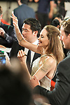 "Actor Angelina Jolie attends a Japan premiere for Disney's ""Maleficent: Mistress of Evil"" on October 3, 2019, in Tokyo, Japan. The movie is a sequel to 2014 hit ""Maleficent"" and will be released on October 18. (Photo by AFLO)"