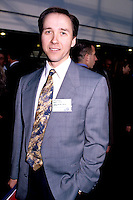 Undated File Photo, circa 1998<br /> <br /> Pierre Belanger (PQ) Depute d'Anjou et Le Ministre de la S&eacute;curit&eacute; publique  durant la crise du verglas de 1998.<br /> <br /> photo (c)  Images Distribution