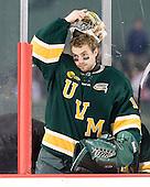 John Vazzano (Vermont - 1) - The University of Massachusetts (Amherst) Minutemen defeated the University of Vermont Catamounts 3-2 in overtime on Saturday, January 7, 2012, at Fenway Park in Boston, Massachusetts.