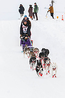 Magnus Kaltenborn on Cordova St. hill during the Anchorage start day of  Iditarod 2018<br /> <br /> Photo by Trent Grasse /SchultzPhoto.com  (C) 2018  ALL RIGHTS RESERVED