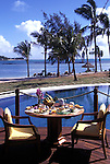 Luxury Breakfast, Tropical resort