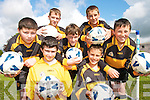 CHAMPIONS: The Currow National School Soccer Team that won the Kerry FAI Schools 5-a-side championship and represented Kerry at the Munster finals at the weekend..Front L/r. Richard Brosnan, Martin O'Mahony..Second Row L/r. Patrick McMahon, Derek Breen (cpt), Sean Morairty..Back L/r. Damien Breen and James Nolan.CHAMPIONS: The Currow National School Soccer Team that won the Kerry FAI Schools 5-a-side championship and represented Kerry at the Munster finals at the weekend..L/r. Richard Brosnan, Martin O'Mahony, Patrick McMahon, Derek Breen (cpt), Sean Morairty, Damien Breen and James Nolan.   Copyright Kerry's Eye 2008