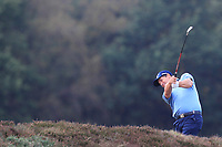 Padraig Harrington (IRL) on the 13th fairway during Round 3 of the Sky Sports British Masters at Walton Heath Golf Club in Tadworth, Surrey, England on Saturday 13th Oct 2018.<br /> Picture:  Thos Caffrey | Golffile