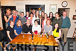 A going away party for Caroline Fitzgerald seated third from the right was held in the Anchor Bar Cahersiveen, Caroline who worked in Walsh's Super Valu Cahersiveen for the last 7 years and is now heading for Cork.