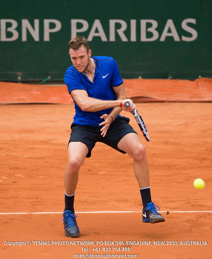JACK SOCK (USA)<br /> <br /> TENNIS - FRENCH OPEN - ROLAND GARROS - ATP - WTA - ITF - GRAND SLAM - CHAMPIONSHIPS - PARIS - FRANCE - 2016  <br /> <br /> <br /> <br /> &copy; TENNIS PHOTO NETWORK