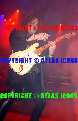 Yngwe Malmsteen; Live, In New York City, On the G3 Tour;.Photo Credit: Eddie Malluk/Atlas Icons.com