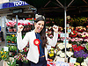 Sadiq Khan Mayor of London joins Dr Rosena Allin-Khan leafletting and speaking with voters outside Tooting Broadway Station for the Tooting by-election.<br /> 16th June 2016 <br /> <br /> <br /> Dr Rosena Allin-Khan newly elected MP for Tooting <br /> <br />  <br /> <br /> Photograph by Elliott Franks <br /> Image licensed to Elliott Franks Photography Services