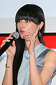Kavka Shishido, drummer, vocalist and model speaks to the audience during the ''ELLE Women in Society'' event on July 13, 2015, Tokyo, Japan. The event promotes the working women's roll in Japanese society with various seminars where top businesswomen, musicians, writers and other international celebrities speak about the working women's roll in the world. By 2020 Prime Minister Shinzo Abe's administration aims to increase the percentage of women in leadership positions to 30% in Japan. (Photo by Rodrigo Reyes Marin/AFLO)
