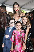 WESTWOOD, CA - NOVEMBER 5: Alessandra Amborsio, Owen Vaccaro, Didi Costine and Scarlett Estevez at the premiere of Daddy's Home 2 at the Regency Village Theater in Westwood, California on November 5, 2017. <br /> CAP/MPI/FS<br /> &copy;FS/MPI/Capital Pictures