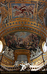 Apse Niche St Charles Amongst Those Afflicted by the Plague Vault St Charles in Glory Giacinto Brandi 1677 San Carlo al Corso Rome