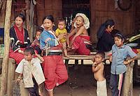 Burmese Hill Tribe N Thailand, Ektachrome, Jim Mueller